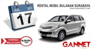 Sewa Mobil Bulanan Surabaya